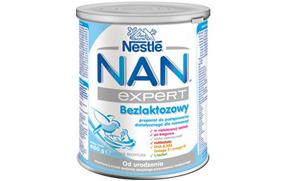 bezlaktozowe mleko nan