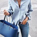 Must have: błękitna koszula