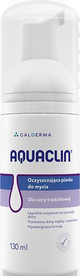 oczyszczająca pianka do mycia twarzy Aquaclin