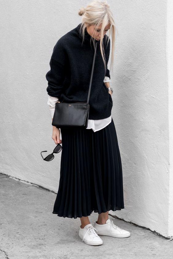 modny sweter oversize