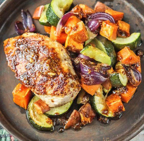 kurczak z warzywami przepis