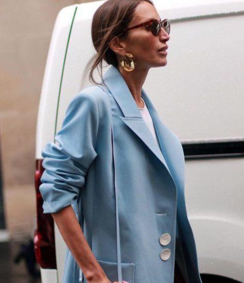 modny błękit 2018