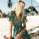 Zielone sukienki – must have lata 2018