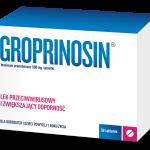 Groprinosin i przeziębienie znika