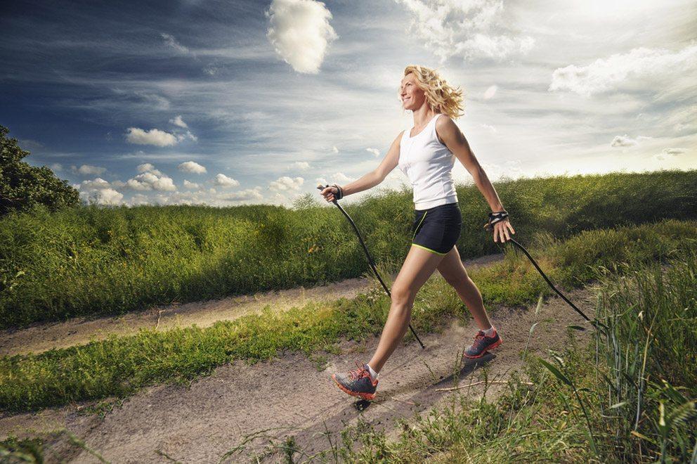 nordic walking efekty