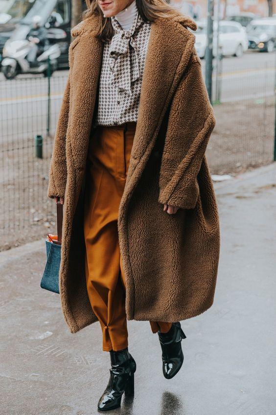 pluszowe płaszcze