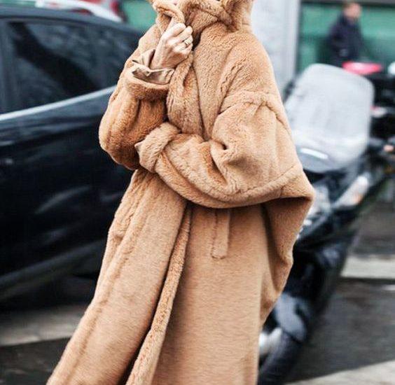modne pluszowe płaszcze damskie