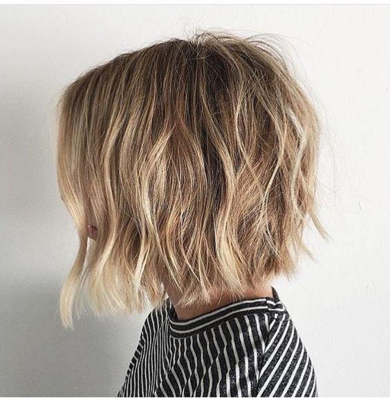 modna fryzura bob