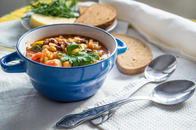 Zupa krem ze świeżych warzyw - skarbnica cennych składników