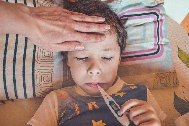 Wysoka temperatura u dziecka - Groprinosin syrop pomoże przy infekcji wirusowej